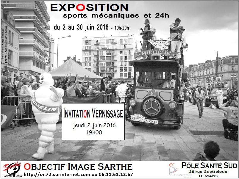 2016 06 expo sports mécaniques PSS affiche - 3x4 jpeg