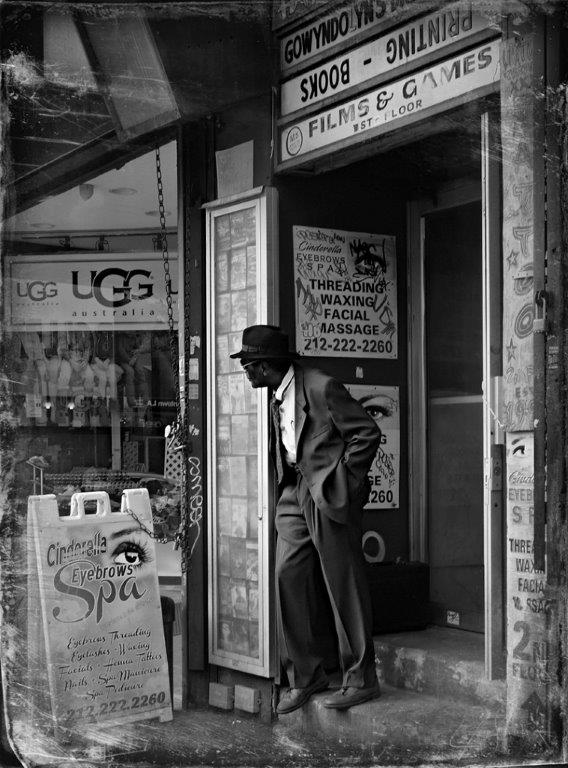 """Harlem"" -Virginie Matheron-OI-33"