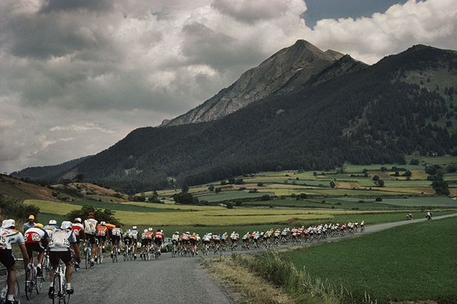 Tour de France 1982. © Harry Gruyaert / Magnum Photos